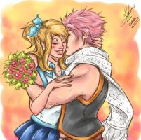 NaLu - Happy Birthday Luce by sarumanka