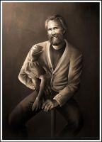 Dad and I (Kermit and Jim Henson) by Petite-Madame
