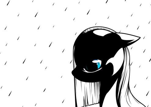 Pouring Rain by Iguanodragon