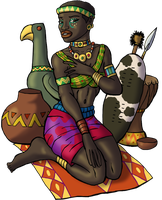 I Am the Queen of Sheba by DaBrandonSphere