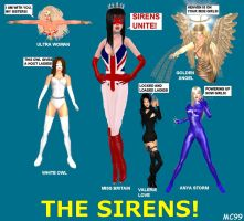 The Sirens by The-Mind-Controller