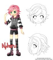 Nyharu referencia by NaMy-BoT
