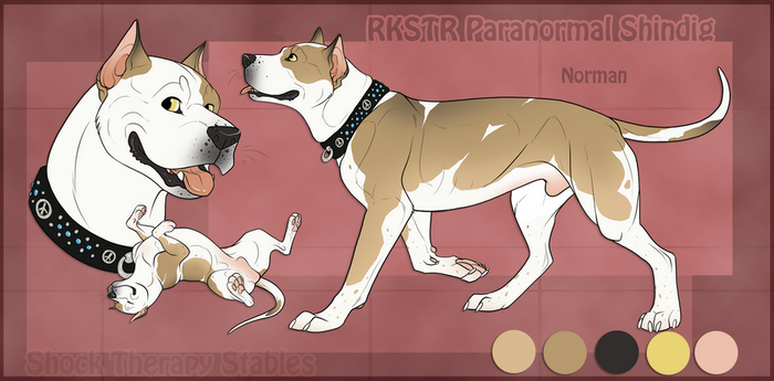 STS Dog - Norman by ShockTherapyStables