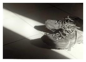 Running shoes by zlyoga