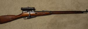 Mosin Nagant 91-30 Sniper by shelbs2