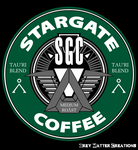 Stargate Coffee Logo by greymattercreations3