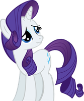 Rarity's Scrunchy Face by ThePoneSenpai