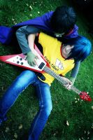 GoRiLLaZ Cosplay 223 tutoring by Murdoc-lein
