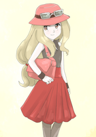 New Pokemon XY girl by maybebaby83