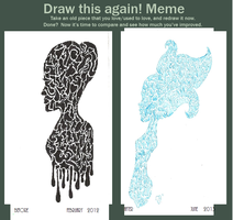 Draw this again meme by Mademoiselle-Z