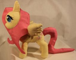 Fluttershy Plush by TheRedBandit
