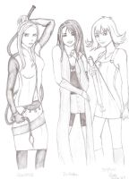 Final Fantasy VIII Girls by lulisha
