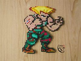 CSW Guile Perler Beads by Cimenord
