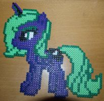 Young Princess Luna - Perler or Hama by Chrisbeeblack