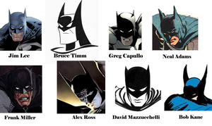 Different Batman Artists by Soyelmejor999