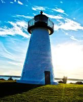 The Ned's Point Lighthouse in Massachusetts by RandomThinker91