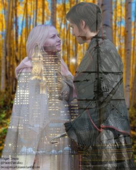 Captain Swan in Photoshop by PsychNcisLostLover