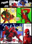 spider-man sidekick auditions: deadpool by m7781