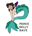 First Draft - Prince Helly Mave by TheShadow-Kun