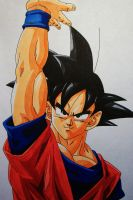 Happy Birthday, Toriyama-sensei! .:Son Goku:. by SakakiTheMastermind