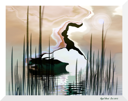 In The Reeds by Nigel-Hirst