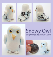 Snowy Owl - SOLD by Bittythings