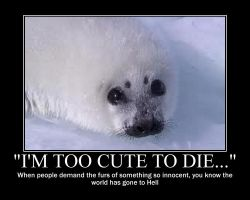 Save the Harp Seals by IceyTHORlover432