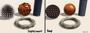 Displacement vs Bump by pyrohmstr