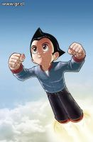 Astroboy Cover 2 Color by GabrielRodriguez