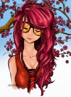 Cute Girl Colored by Stroke1986
