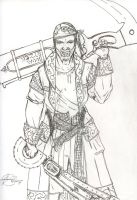 Character Concept: ZH Pirate by ZephronScythe