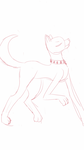 *attempted to draw a fancy dog* by Snowkitty129