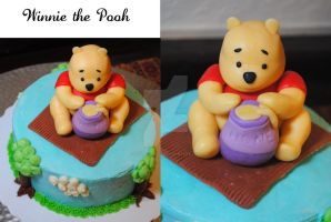Winnie the Pooh by HaileesSweets