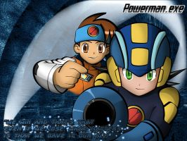 Rockman and Netto by RapidPowerBlast