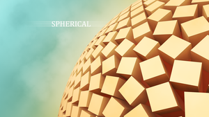Spherical [c4d first try] by Mithandir730