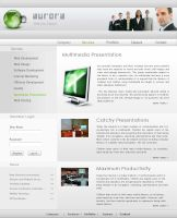 Webpage Template 001 by magneto-ms