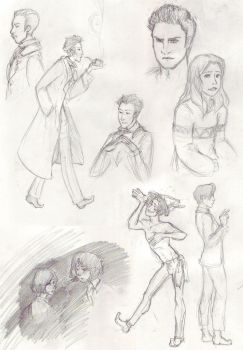 Sketches of 2011 by burtonite42
