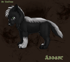 Addanc the Wolf Pup by TheTyro