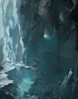 Deep Ice Cavern by FranklinChan