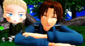 Hetalia MMD - Beside you by YuMoriChii