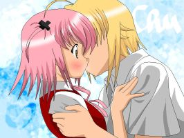 Freshman kisses -color- by Amu---Chii