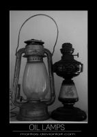 Oil Lamps by Morillas