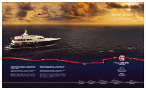 Timmerman yachts, advertising page for Timmerman 4 by Alexey-Starodumov