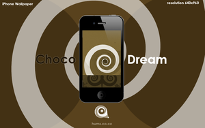ChocoDream iPhone Wallpaper by ChrisVme
