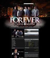 Myspace: Forever Ends Now by stuckwithpins