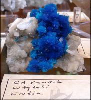 Cavansite Waterfall by Undistilled