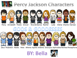 Percy Jackson WeeMees by THEgurlONfire