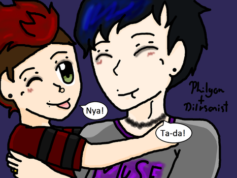 Dil and Papa: Baby's Punk Edit by LittleDesertStar