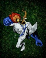 Earthworm Jim by SachaLefebvre