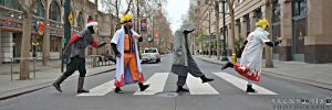 Cosplay Abbey Road by R-Legend
